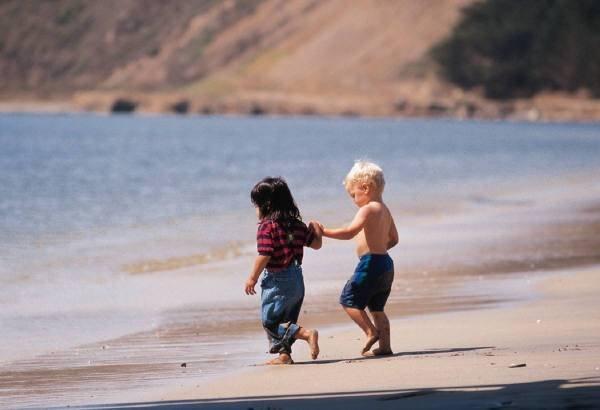 Фото дети на пляже