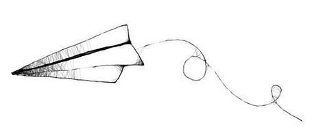 """фото  """"Бумажный самолётик """", добавлен Юки-тян, 03.07.2011 11:40. фото Бумажный самолётик."""
