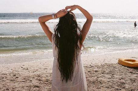 Фото Девушка на берегу моря (© Штушка), добавлено: 03.07.2011 14:14