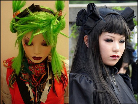 Фото Девушки, одетые в стиле Harajuku (© Шепот_дождя), добавлено: 03.07.2011 18:41
