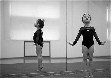 Фото Юная балерина