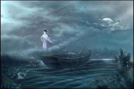 Фото Призрак гейши в море (© Флориссия), добавлено: 17.07.2011 14:01