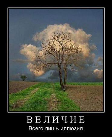 Фото Величие всего лишь иллюзия