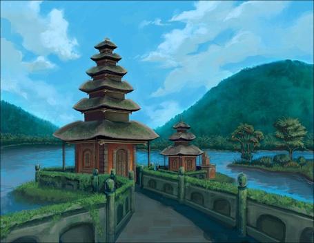 Фото Храм у реки (© Флориссия), добавлено: 25.07.2011 16:23