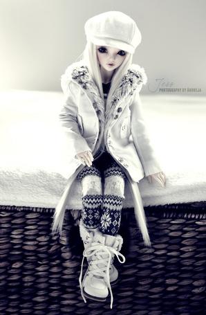 Фото Модно одетая кукла