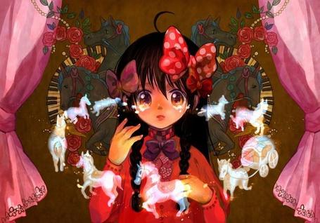 Фото Слезы девочки превращаются в игрушки (© Юки-тян), добавлено: 31.07.2011 18:24