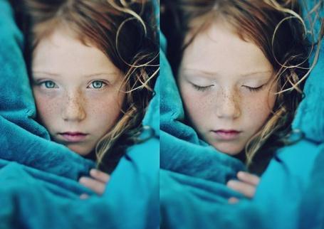 Фото Девочка с веснушками