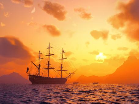 Фото Корабль отправился в дальнее плавание (© Radieschen), добавлено: 07.08.2011 08:59