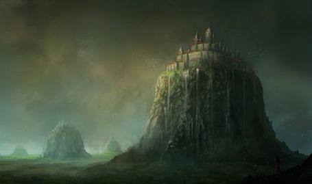 Фото Замок на высокой горе