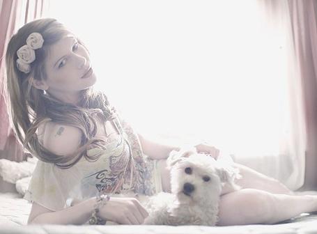 Фото Девушка с собакой (© Юки-тян), добавлено: 11.08.2011 22:43