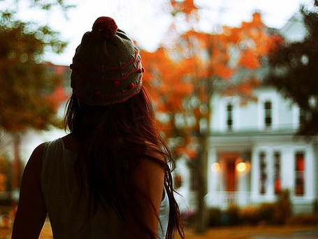 Фото Осень. Девушка в шапке (© Юки-тян), добавлено: 12.08.2011 09:52