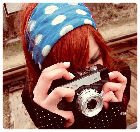 Фото Девушка с фотоаппаратом (© Юки-тян), добавлено: 12.08.2011 22:30