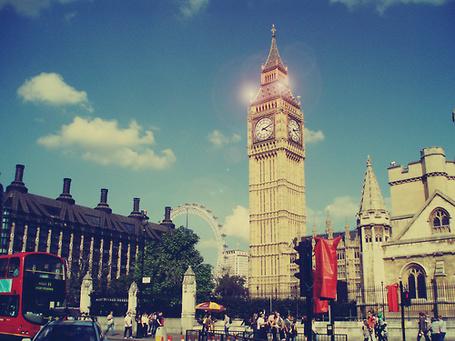 Фото Лондон, Биг-Бен (Big Ben) — колокольная башня, часть Вестминстерского дворца