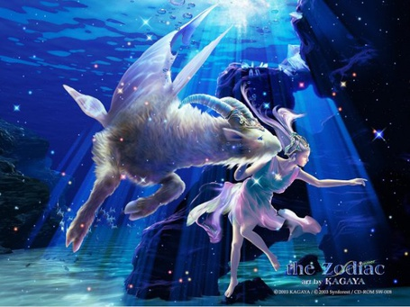 ���� ������� ��� ����� � ���������. ����� ����� �������. ������� (the zodiac by kagaya)
