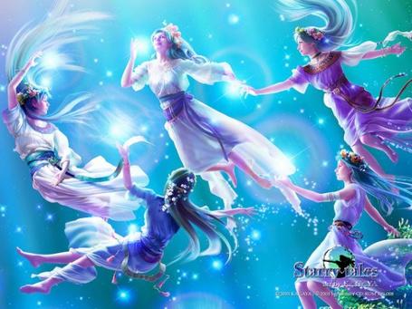 Фото Пять звездных систер (Starry tales by kagaya) (© Юки-тян), добавлено: 14.08.2011 15:35