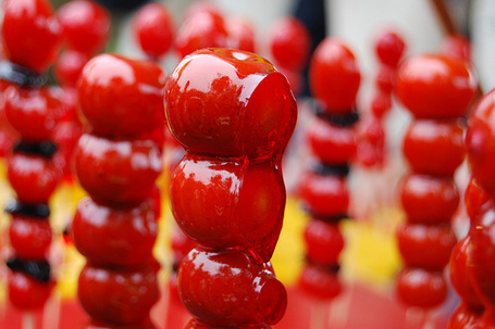 Фото Вишня на палочке,в вишневом сиропе (© Настя Лондон), добавлено: 15.08.2011 17:01