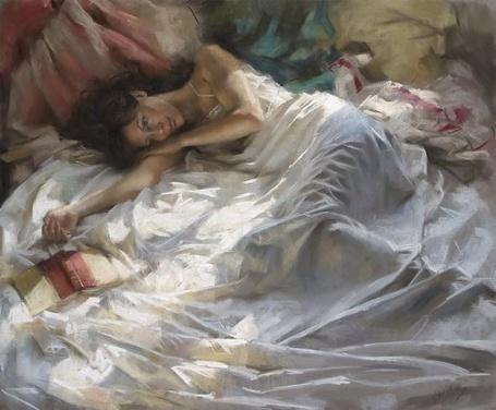 Фото Девушка на кровати (© TARAKLIA), добавлено: 19.08.2011 16:07