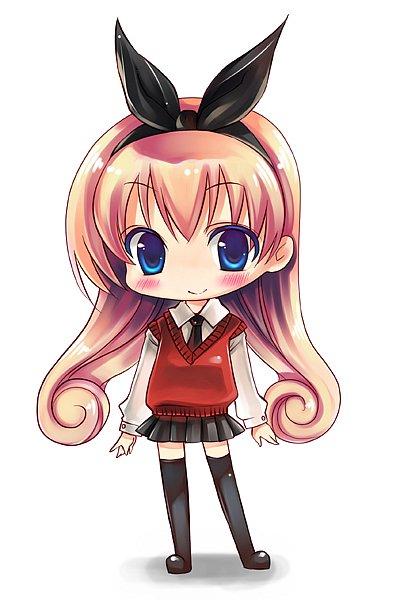Фото девушка с бантиком на голове