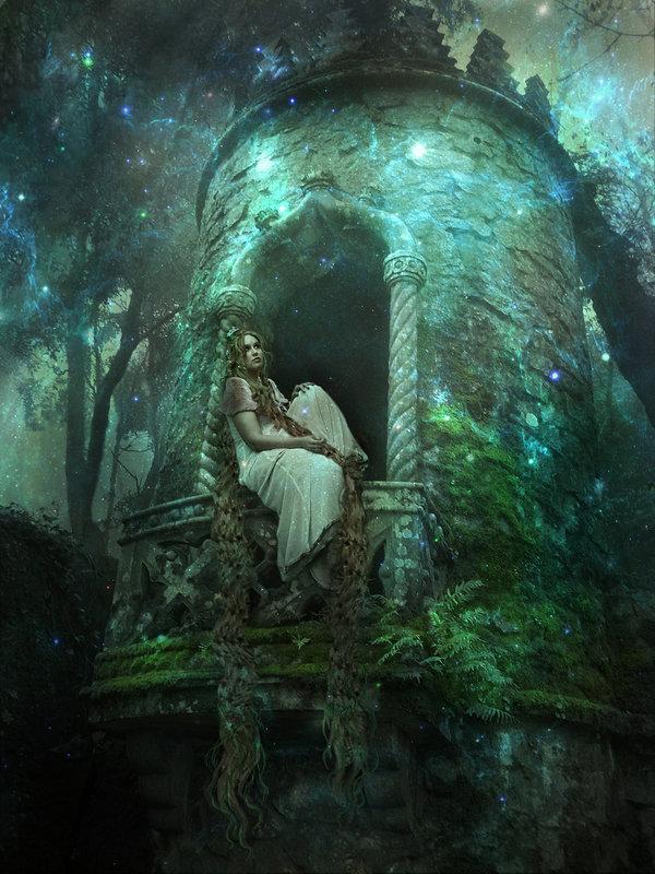 Картинка девушка готика