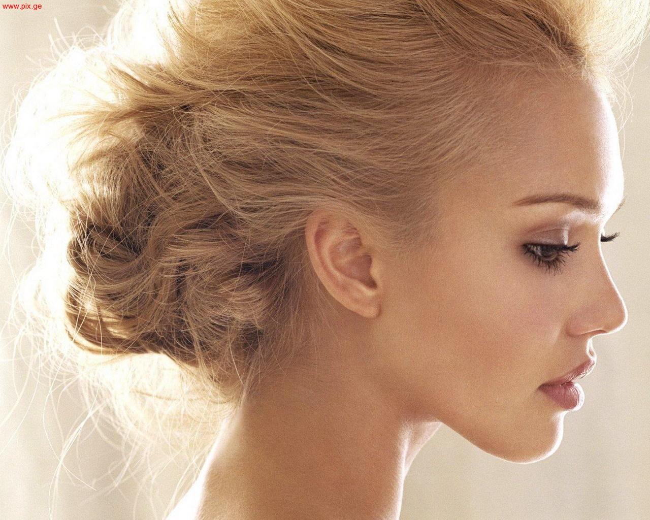Фотосессии в профиль блондинок 8 фотография