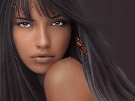Фото Пронзительный взгляд девушки (© Volkodavsha), добавлено: 04.09.2011 02:38