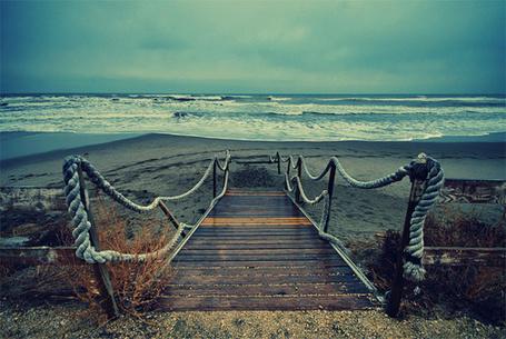 Фото Мост, ведущий к морю (© Радистка Кэт), добавлено: 04.09.2011 12:08