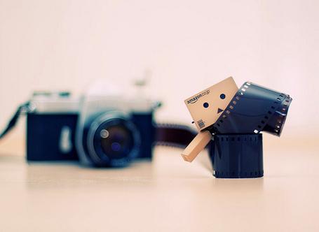 Фото Данбо / Danbo, фотоаппарат и пленка (© Радистка Кэт), добавлено: 04.09.2011 12:14