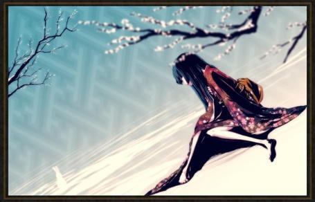 Фото Девушка в кимоно под ветвью сакуры (© Юки-тян), добавлено: 04.09.2011 16:47