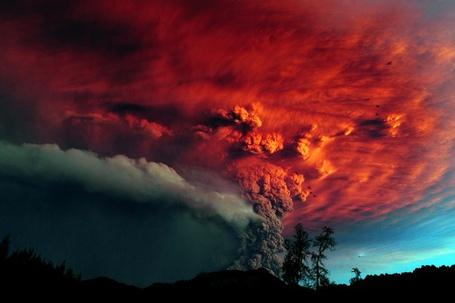 Фото Извержение вулкана (© Флориссия), добавлено: 05.09.2011 14:29