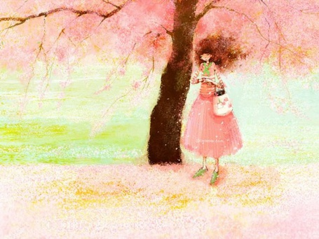 Фото Девушка мечтает у цветущей вишни (© TARAKLIA), добавлено: 07.09.2011 17:54