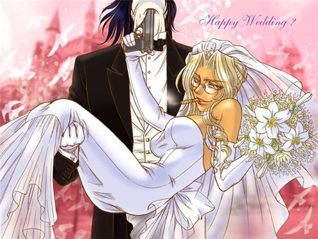 Фото Алукард и Интегра (Happy Wedding?)