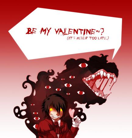 Фото Алукард из аниме 'Хеллсинг / Hellsing' (be mine valentine? it`s never too late)