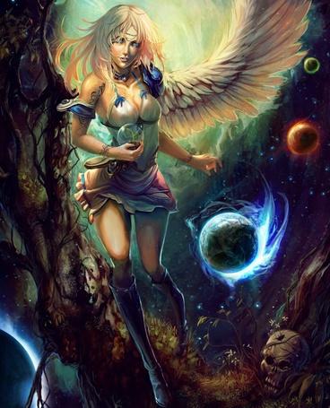 Фото Ангел и парад планет