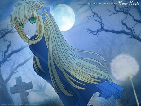 Фото Милая девушка блондинка лунной дождливой ночью на кладбище (~Hidden Princess~ Haka Hagio) (© D.Phantom), добавлено: 16.09.2011 01:02