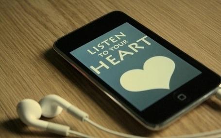 Фото Заставка на iPod (listen to eour heart) (© Шепот_дождя), добавлено: 01.10.2011 00:05