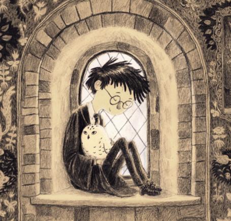 Фото Гарри Поттер держит на руках Буклю (© Lola_Weazlik), добавлено: 04.10.2011 10:41
