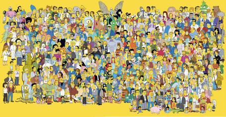 Фото Все персонажи мультсериала Симпсоны