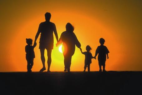 Фото Счастливая семья (© Флориссия), добавлено: 06.10.2011 14:54