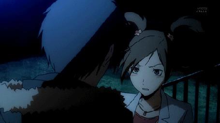 Фото Изая и Маджента (кадр из аниме 'Durarara / Дюрарара') (© D.Phantom), добавлено: 10.10.2011 04:33