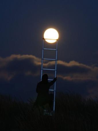 Фото Лестница к луне (© Флориссия), добавлено: 12.10.2011 16:04