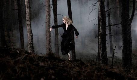 Фото Девушка гуляет по туманному лесу (© Флориссия), добавлено: 13.10.2011 11:09