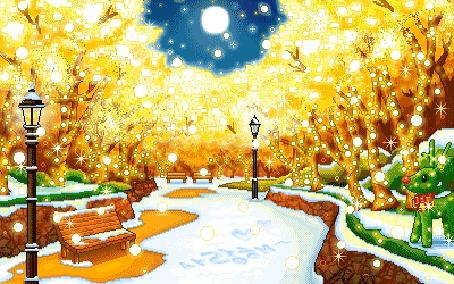 Фото Зима в центральном парке (© Lola_Weazlik), добавлено: 13.10.2011 20:22
