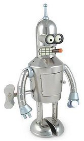 Фото Заводная игрушка Бендер из Футурамы (© alcatel), добавлено: 14.10.2011 06:05