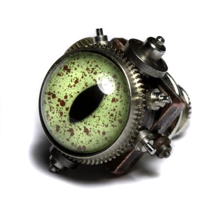 Фото Механический кошачий глаз