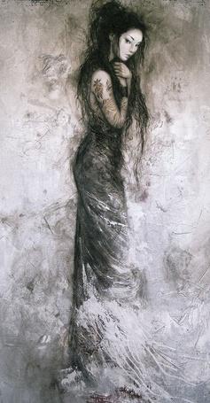 Фото Девушка в чёрном (© Флориссия), добавлено: 16.10.2011 19:40