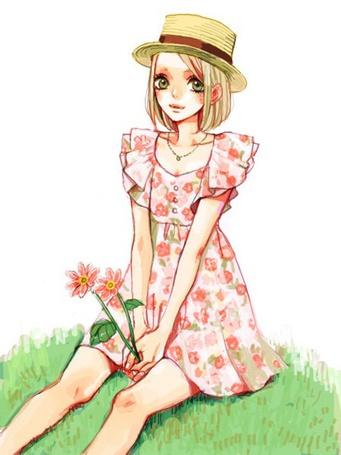 Фото в живую с цветами