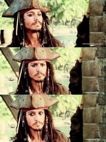 Фото Jonny Depp в роли капитана Джека Воробья (© Panda white), добавлено: 23.10.2011 20:43