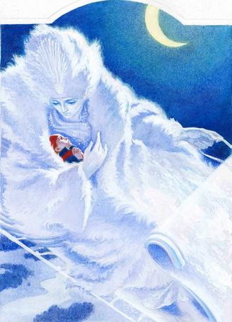 Фото Снежная королева с Каем (© Anatol), добавлено: 28.10.2011 16:29