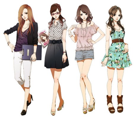 Фото Модные аниме девушки (© Lola_Weazlik), добавлено: 30.10.2011 23:34