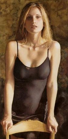 Фото Блондинка в чёрной сорочке (© Флориссия), добавлено: 31.10.2011 19:06
